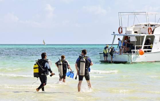 Diving in Cayo Santa María