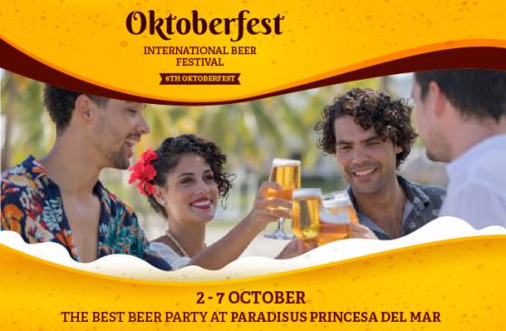 8th OKTOBERFEST International Beer Festival at Meliá Cuba