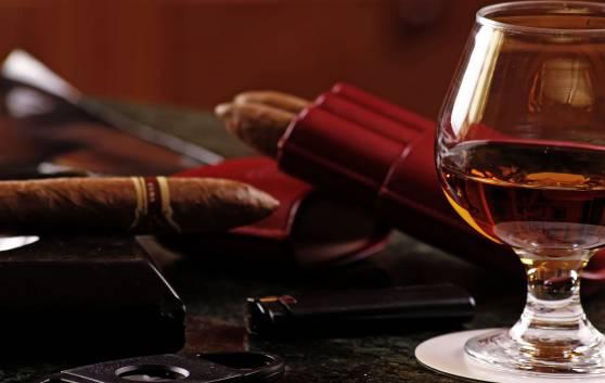 Rum and cigar tasting