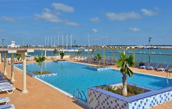 Swimmingpool Pool der Ferienwohnungen