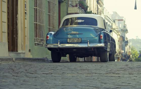 Havanna Eine klassisches Fahrt im Auto