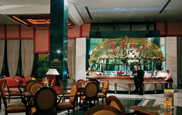 Hotel Meliá Habana - Bar Quinta Avenida - Bares