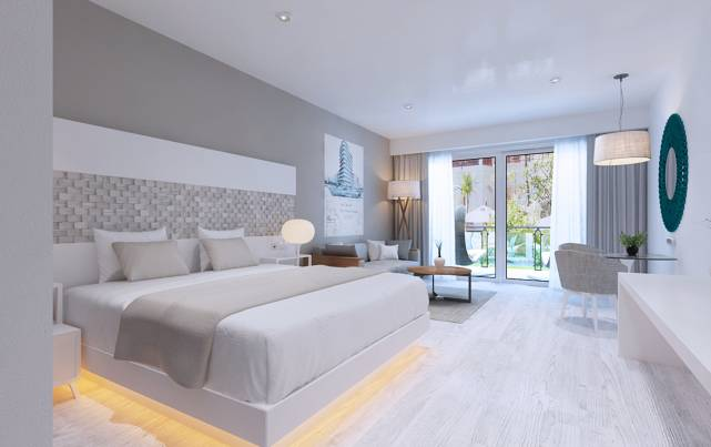 Meliá Trinidad Playa - DELUXE SWIM-UP - Rooms