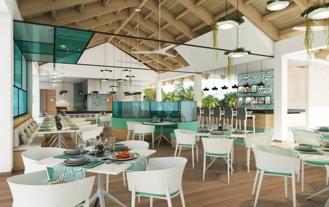 """Paradisus Los Cayos - Restaurante Family Grill – Trattoria """"Olio"""" - Restaurantes"""
