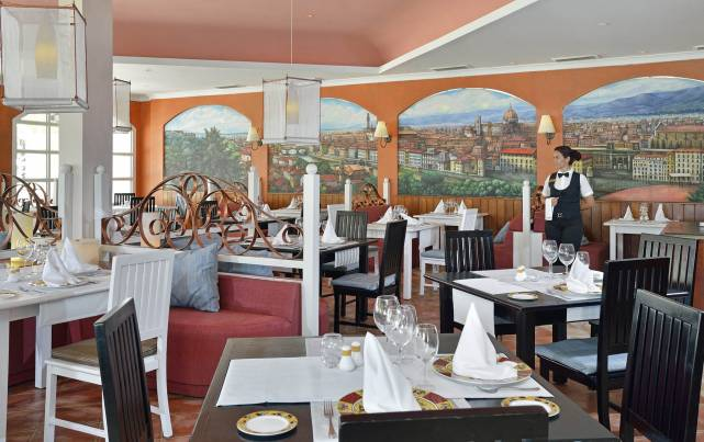 Paradisus Princesa del Mar Resort & Spa - Restaurantes Firenze - Restaurants