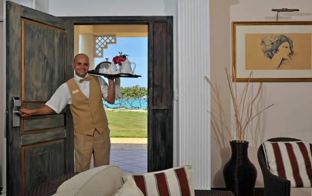 Royal Service at Paradisus Varadero - Servicio en habitaciones Royal Service - Services