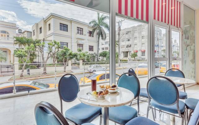 Tryp Habana Libre - Cafetería Dulceria Cremeria La Dulce Habana - Cafeterías