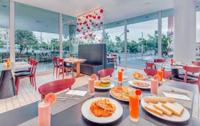 Tryp Habana Libre - Cafetería La Rampa - Cafétérias