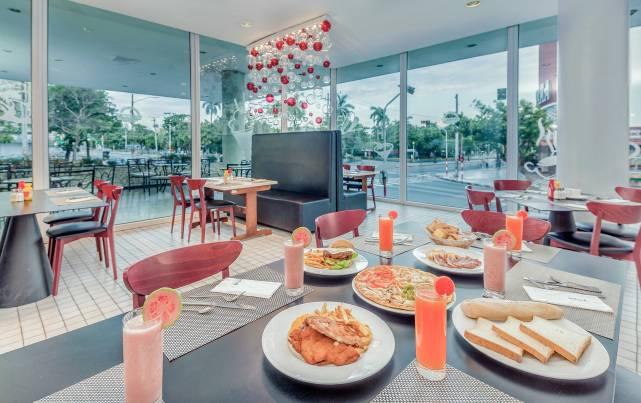 Tryp Habana Libre - Cafetería La Rampa - Cafeterias