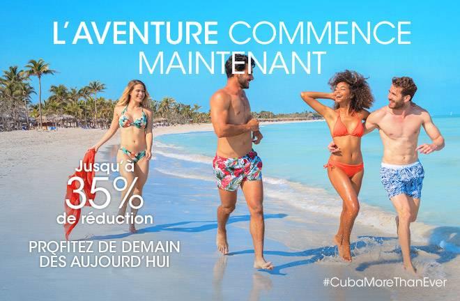 Profitez de jusqu'à 35% de réduction grâce aux réservations anticipées avec Meliá Cuba