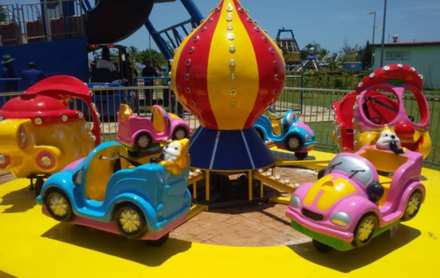 """Parque infantil """"La Isla del Coco"""""""