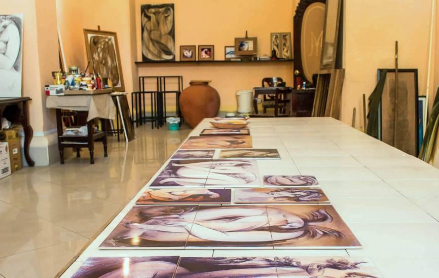 Talleres y galerías de arte