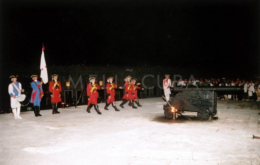 The Cannon Blast Ceremony