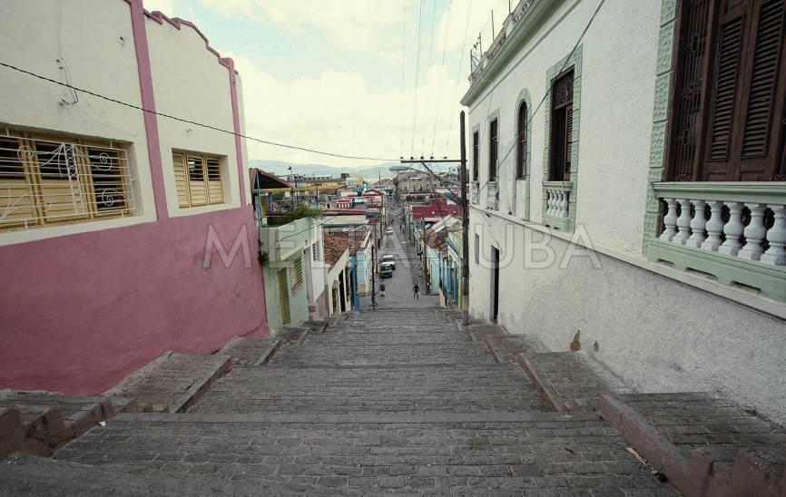 Rue-escalier Padre Pico