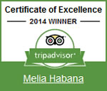 2014 - TripAdvisor: Certificate of Excellence