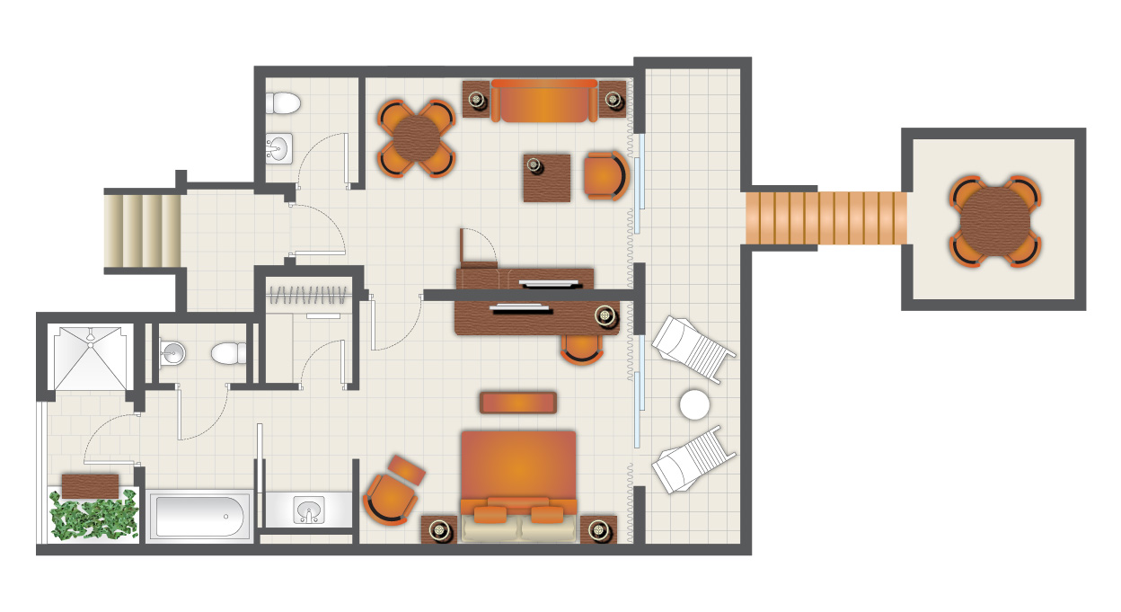 THE LEVEL ROYAL SUITE