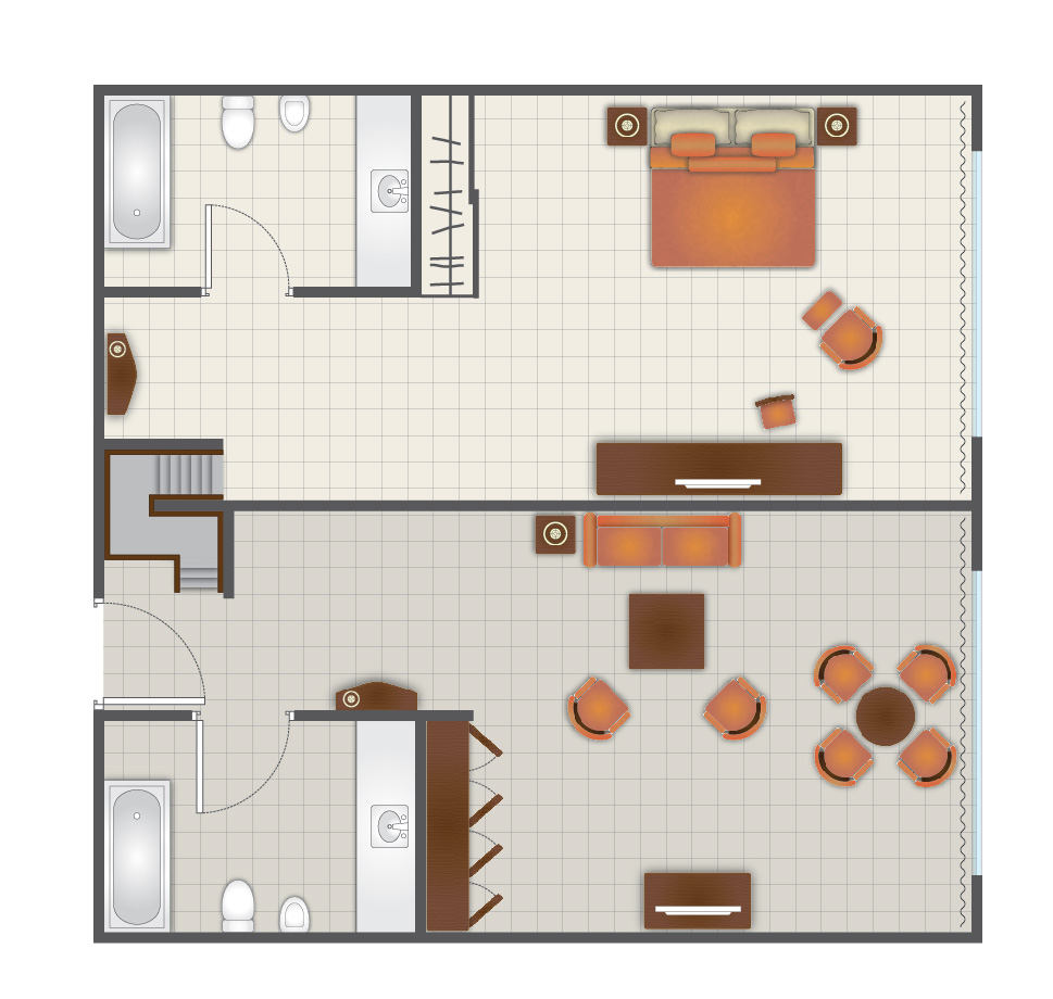 THE LEVEL MASTER SUITE
